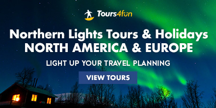 Northern Lights: up to 15% Off