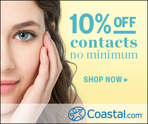 10% Off Contact Lens Orders, No Minimum Required!
