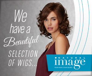 We have a beautiful selection of wigs