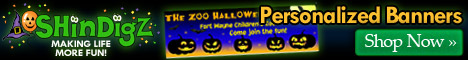 Halloween Banners - Available in 7 sizes!