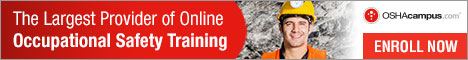 OSHAcampus- Online Occupational Safety Training 468x60