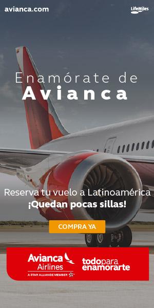 Volar a Sudamérica con Avianca 2019