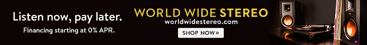 728x90 Financing at World Wide Stereo