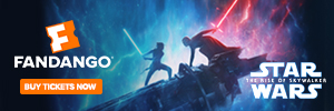 300x100 Star Wars: The Rise of Skywalker in Theaters December 20. Tickets On Sale Now!