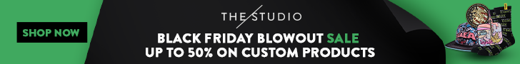 Up to 50% off on custom products
