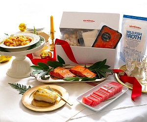 Now Available! Limited Edition Wild Seafood Holiday Box! Curated From Our Favorites!