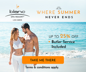 Treat your valentine. 6th night free to enjoy all-inclusive luxury at Le Blanc Los Cabos.