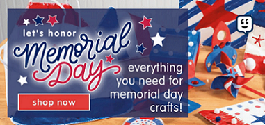 SAVE 20% OFF Select Crafts For Memorial Day & Get Free Shipping Using Code: SAVE21 At Checkout! Shop