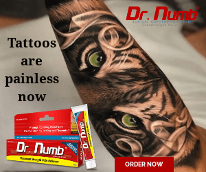Tattoos are Painless Now