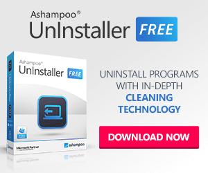 Uninstall programs