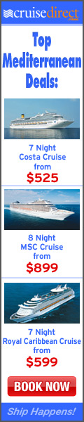 Book Your Mediterranean Cruise Today!
