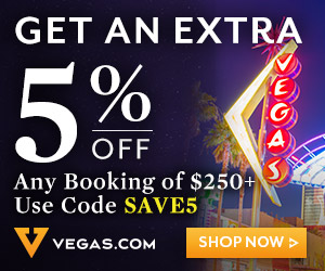 10% promo code on las vegas show tickets!