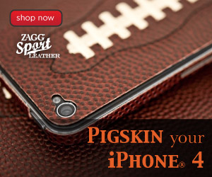 ZAGG Sport Leather for iPhone 4