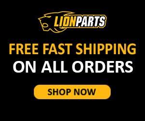 Lionparts.com - Free fast shipping – 300×250 – 3