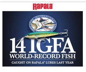 Rapala World Record Lures 300x250