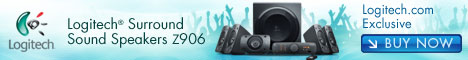 468x60 - Logitech Speaker System Z906 for £329