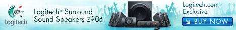 468x60 - Logitech Speaker System Z906 for £329