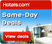 Hotels.com Same Day Deals!