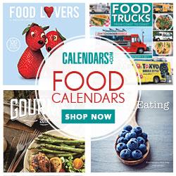 Shop Foodie Calendars Now!