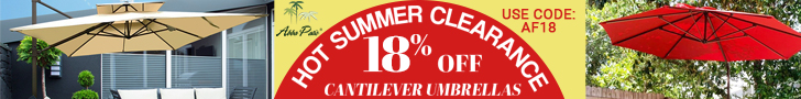 Hot Summer Clearance! 18% Off on Selected Items Plus Freeshipping! Use Code AF18. Ends 08/31/2020.