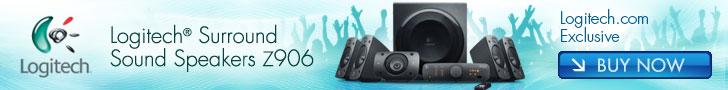 728x90 - Logitech Speaker System Z906 for £329