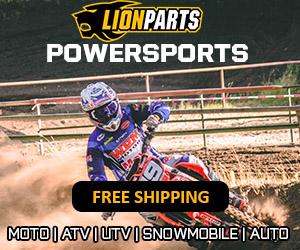Lionparts.com - Moto – Powersports – 300×250 – 2