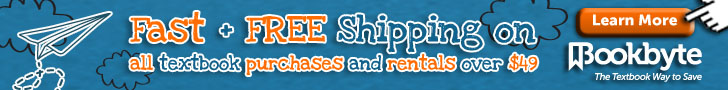 Get Free Expedited Shipping at BookByte.com