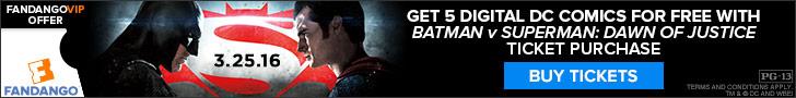 Batman v Superman: Dawn of Justice GWP