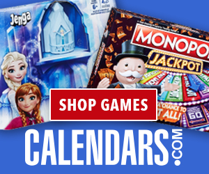 Find Games on Calendars.com