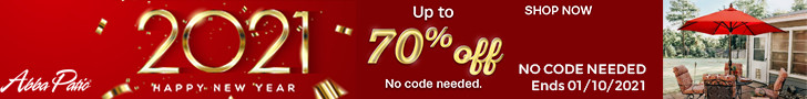 Happy New Year! Up to 70% Off on Selected Items! No Code Needed! Ends 1/10/2021.