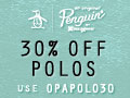 ORIGINAL PENGUIN 120x90 Shirts 30% Off