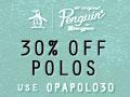 ORIGINAL PENGUIN 120x90 Shirts 30% Off