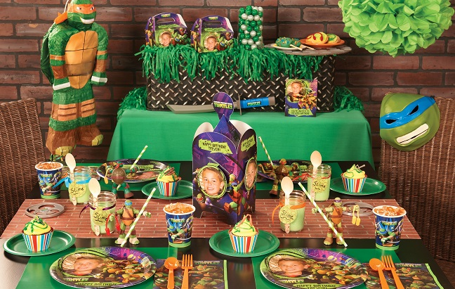 Plan the perfect Teenage Mutant Ninja Turtles party