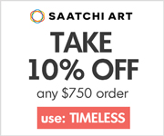 Pick up a unique art gift at Saatchi Art and save!