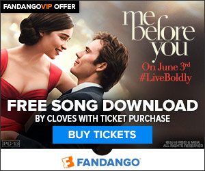 Fandango - Free Song Download with Me Before You Movie Tickets