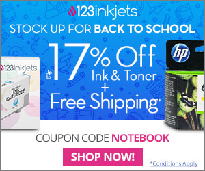 123Inkjets Coupon Code July 2018