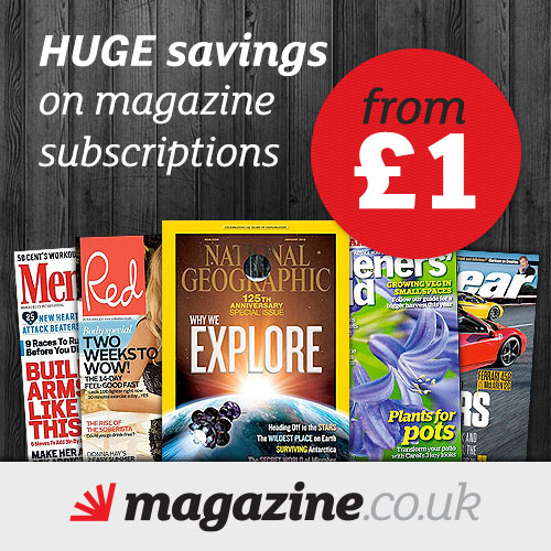 Subscriptions from £1