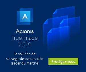 Nouveau Acronis True Image backup - Téléchargement Gratuit