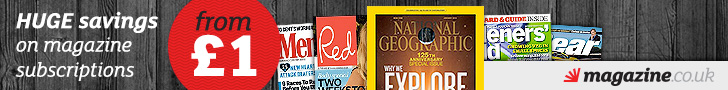 Magazine Subscriptions from £1