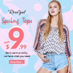 Women Spring Tops Hot Sale: Save Up to 59% OFF + Free Shipping
