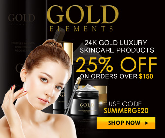 Gold Elements 25% Off 336x280 banner