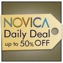 125x125 NOVICA Daily Deals