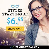 Styles Starting at $6.95 at ZenniOptical.com!