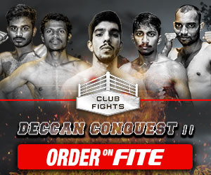 Jan. 24 - Club Fights-Deccan Conquest II on FITE PPV