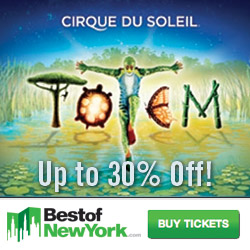 Cirque du Soleil Totem in NYC - Save up to 30% off